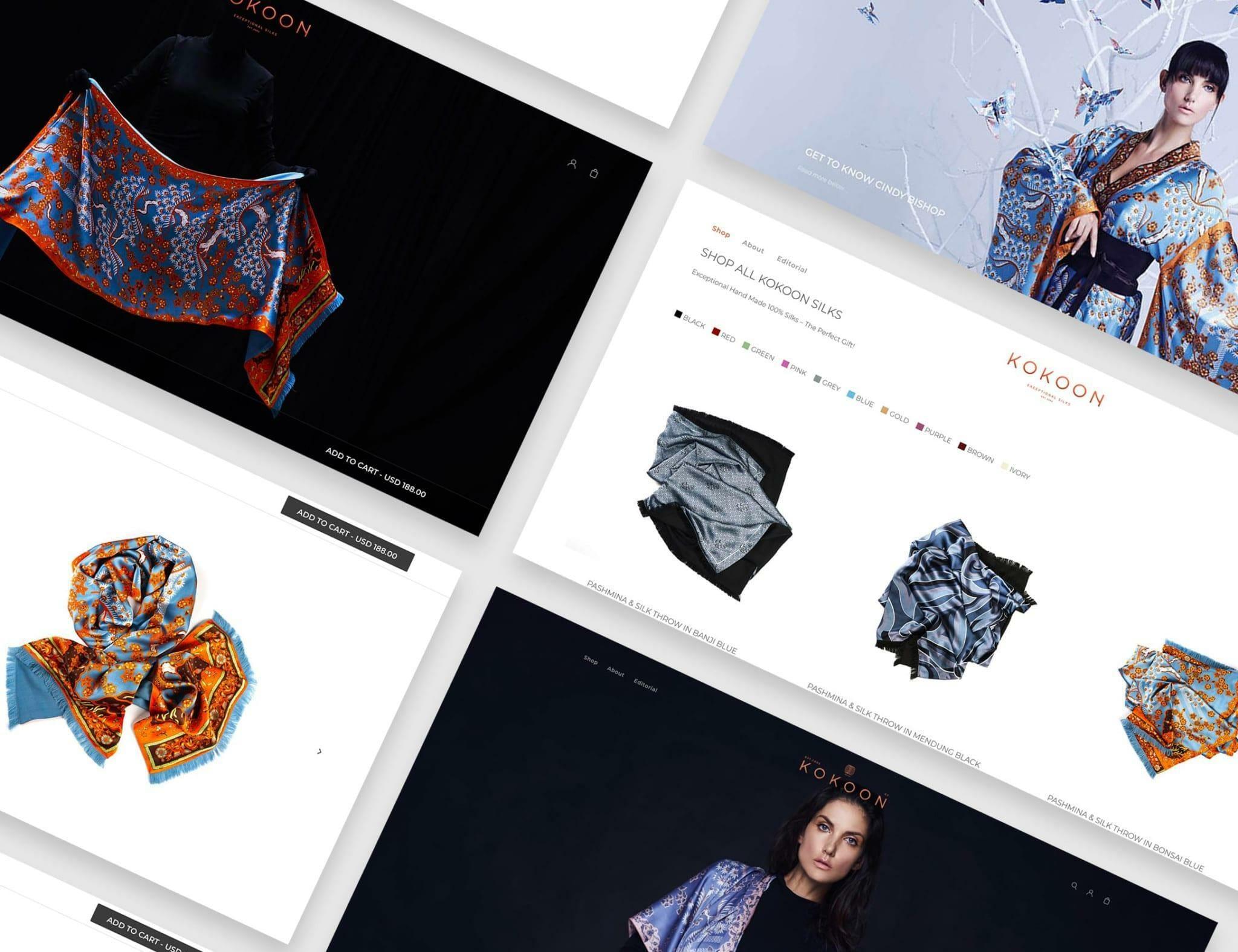kokoon-silks-ecommerce-services-website-dazze